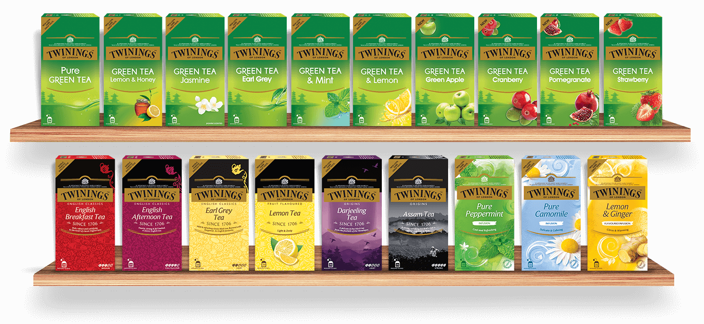 Twinings offers Premium Tea Blends and Classic Infusions